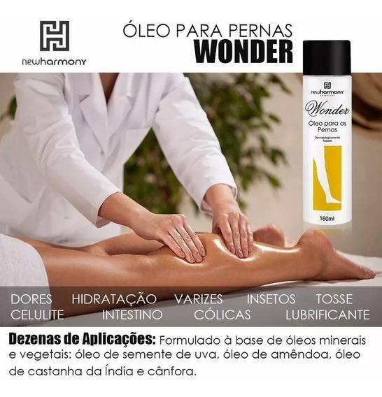 Doutorzinho Óleo Para Pernas New Harmony Original Wonder