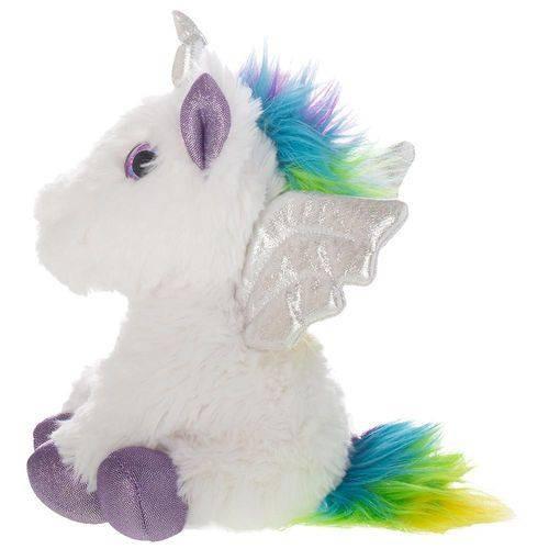 Pelucia De Unicornio 9,5 Branco - Shiny Toys