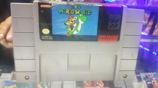 Super Mario World Original Americano Para Snes Supernintendo