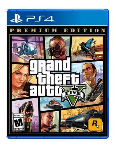 Imagen 1 de 10 de Gta V Ps4 Grand Theft Auto 5 Fisico Original Playking
