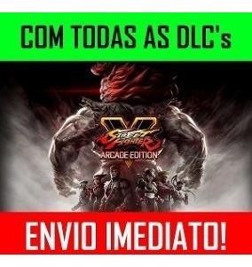 Street Fighter V Arcade Edition + 10 Dlcs + 1 Jogo - Pc