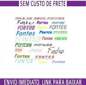 Pacote 5800 Fontes Para Programas Do Windows