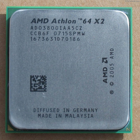 Proc. 2ghz Dual Core Amd Athlon 64 X2 Skt.am2 Envio T.brasil
