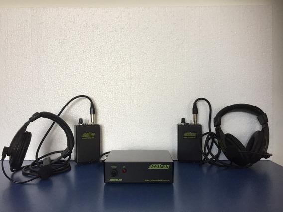 Intercom Fone De Comunicação Entre Direção E Câmeras