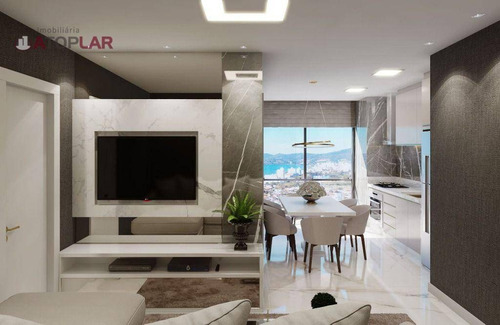 Imagem 1 de 6 de Flat Com 1 Dormitório À Venda, 40 M² - Meia Praia - Itapema/sc - Fl0012
