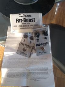 Pedal Fat Booster Fulltone Fb03