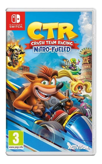 Crash Team Racing Nitro-fueled Nintendo Switch Midia Física