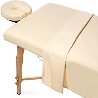 Saloniture 3-piece Microfiber Massage Table Sheet Set - Prem