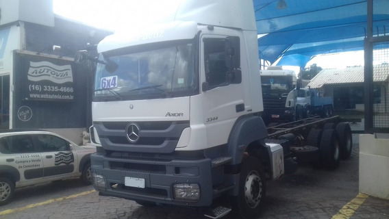 Mercedes Axor 3344 Ano 2016 Automatico R$ 270.000 No Chassis