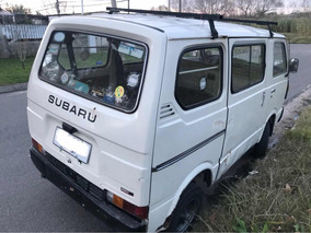Subaru Van Camper