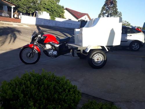 Honda Cg Cargo Triciclo Fechada