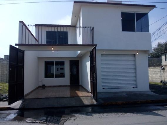 Vendo Casa Nueva En Metepec