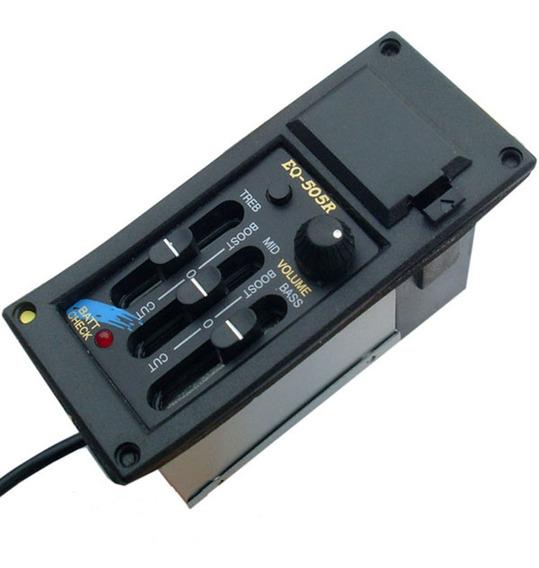 Eq-505r Pré-amplificador De 3 Bandas Eq-505r Volume De Tom D