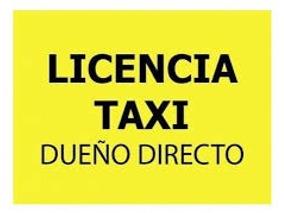 Licencia Taxi Caba