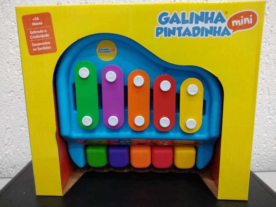 Brinquedo Infantil Piano Xilofone Galinha Pintadinha Winfun