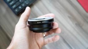 Adaptador De Lentes Canon Eos Ef P/ Cameras Sony Nex E-mount