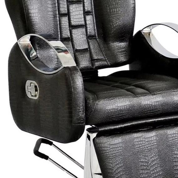 Promoção Cadeira De Barbeiro Reclinável Tissot Terra Santa