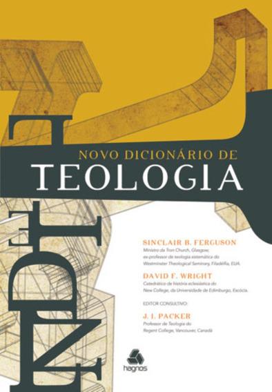 Novo Dicionário De Teologia