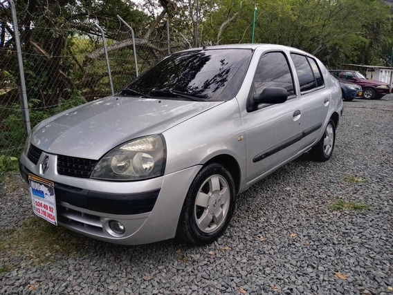 Renault Symbol Motor 1.4 2005 Gris Titan 4 Puertas