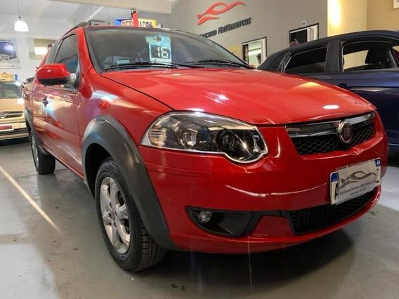 Fiat Strada 1.3 Jtd Trekking 2016 Full