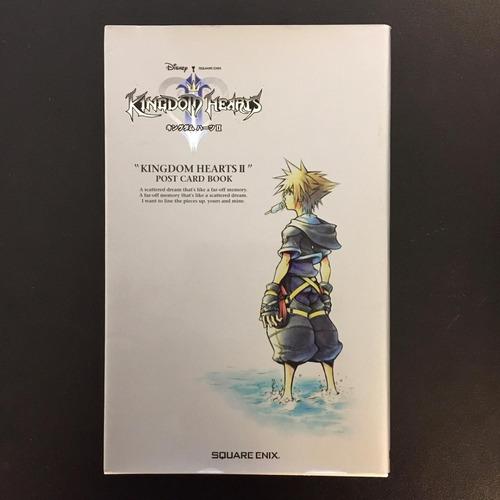 Imagen 1 de 8 de Kingdom Hearts Ii Postcard Book Gastovic Anime Store