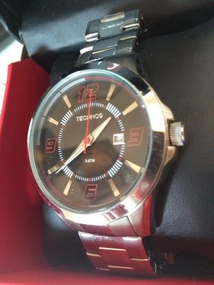 Relógio Technos Masculino 2115kop 5atm - Metade Do Preço