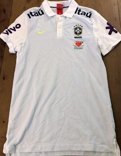 Camisa Pólo Seleção Brasileira Oficial Dos Jogadores