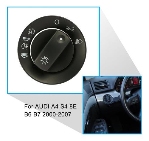 la Carcasa del Controlador Faro Cap Kit de reparaci/ón Ajuste para Audi A4 B6 B7 de Accesorios de Coches Interruptor de la luz de Niebla