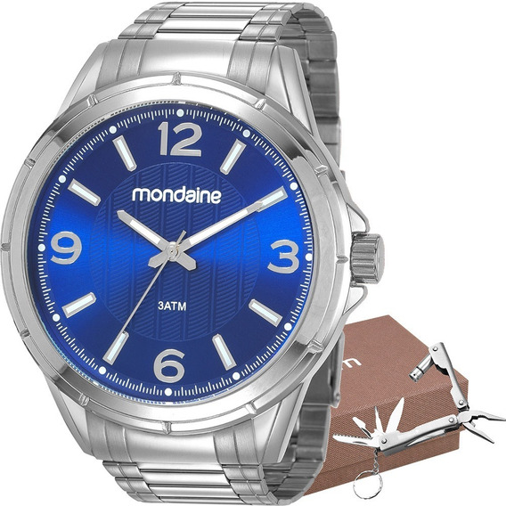 Kit Relógio Mondaine Masculino Barato Original Garantia Nfe