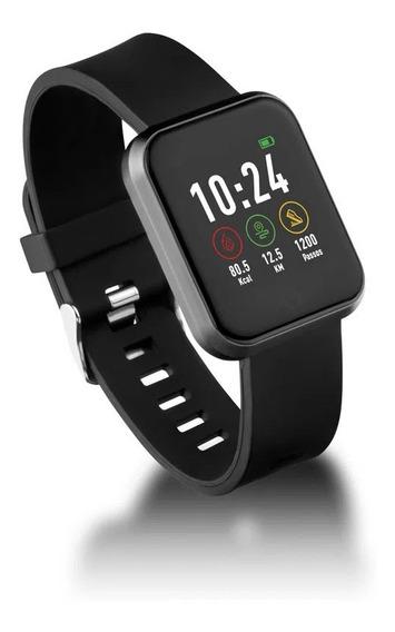 Relógio Smartwatch Londres Android/ios Preto - Es265 Atrio