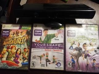 Kinect 360 + 3 Juegos