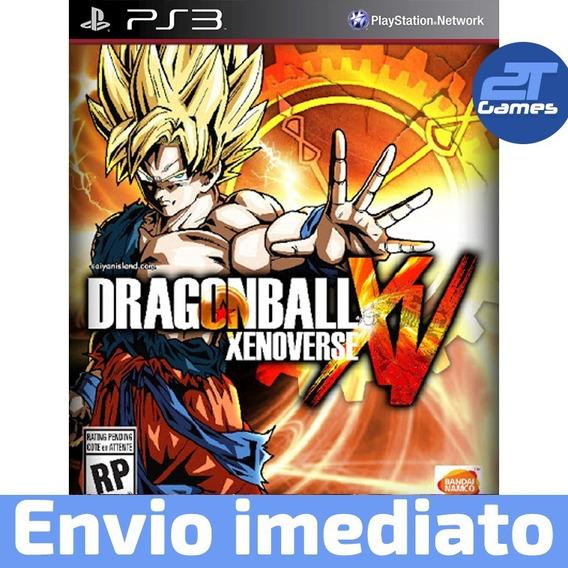 Dragon Ball Xenoverse Ps3 Jogo Psn Legendado Pt Br Play3