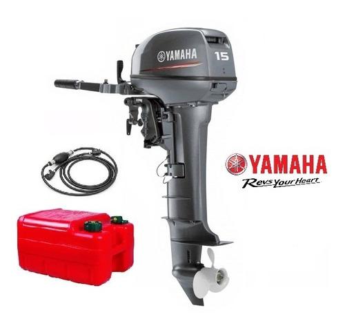 Imagen 1 de 7 de Motor Yamaha 15hp 2t (nuevo)