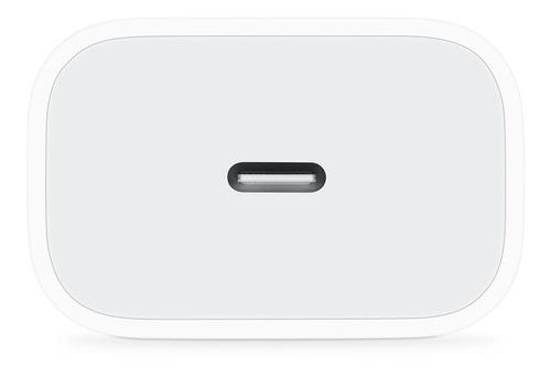 Cargador 18w iPhone iPad Carga Rapida Cubo + Cable 1 Metro