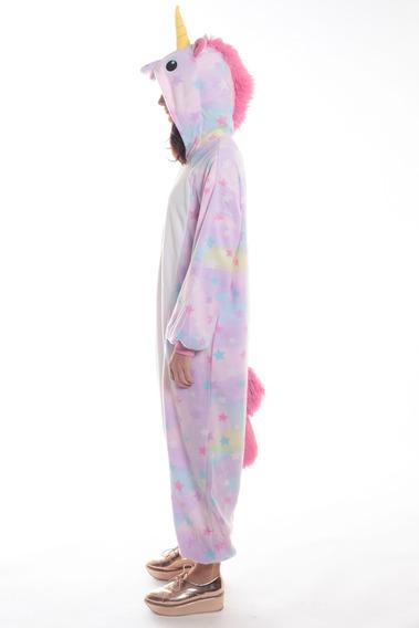 Pijama Mameluco Unicornio Mujer Hombre Abrigado Love&home