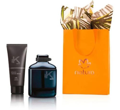 Perfume K Noite + Bálsamo Postbarba Na - mL a $620
