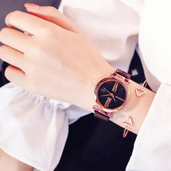 Relógio Feminino Starry Night (céu Estrelado)