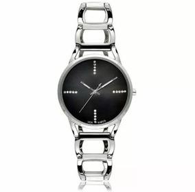 Relógio Vox Feminino Pulseira Em Aço Prata