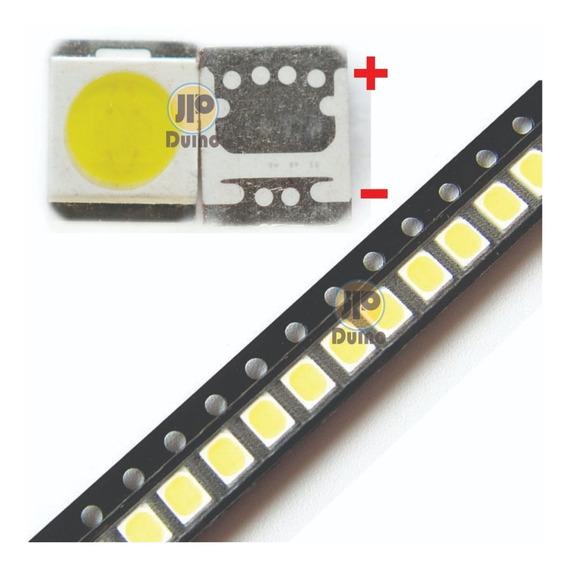 100x Led 2835 3v 1w Lg Linha Ln Innotek Tv Backlight 3528