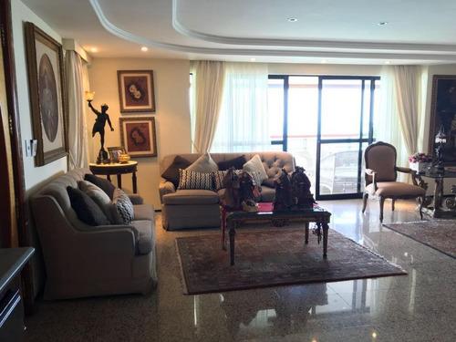 Apartamento Com 3 Suítes À Venda, 240 M² Por R$ 2.300.000 - Meireles - Fortaleza/ce - Ap1638