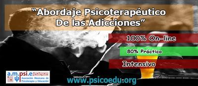 Abordaje Psicoterapéutico De Las Adicciones Curso Práctico