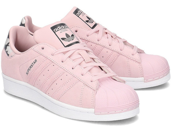 Oferta! Tenis adidas Superstar Rosa Pastel, Originals