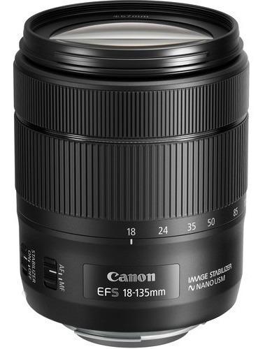 Lente Canon Ef-s 18-135mm F/3.5-5.6 Is Usm Garantia Sem Juro