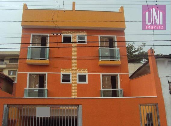 Cobertura Residencial À Venda, Vila Camilópolis, Santo André. - Co0343