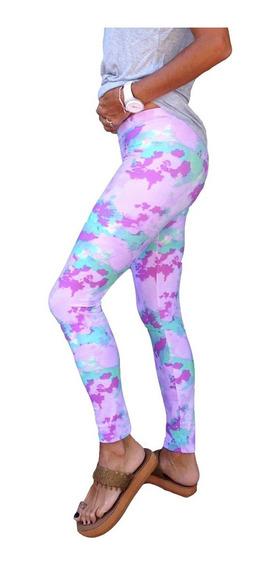 Calzas Leggings Lycra Mujer Estampadas