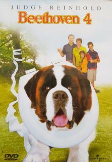 Dvd Beethoven 4 Infantil Comédia Dublado Leg 100% Original