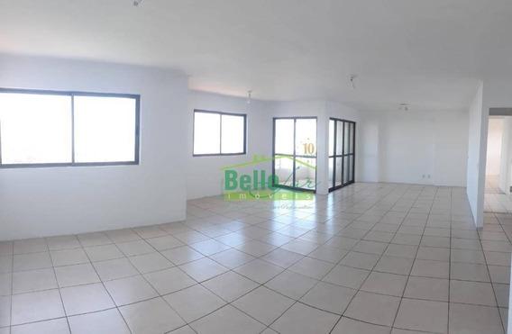 Apartamento Com 4 Dormitórios Para Alugar, 208 M² Por R$ 3.200+ Taxas/mês - Torre - Recife/pe - Ap1429