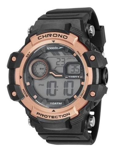 Relógio Digital Speedo 11015g0evnp2 Masculino Preto