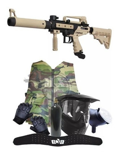 Paquete Marcadora Tippmann Cronus Gotch Pistola Paintball