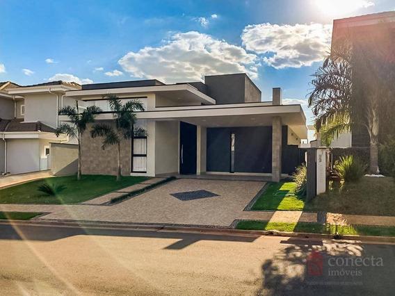 Casa Com 3 Dormitórios À Venda, 188 M² Por R$ 999.000,00 - Condomínio Terras Do Cancioneiro - Paulínia/sp - Ca1184